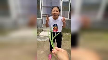 童年趣事:莹莹想吃的辣辣的东西是啥?