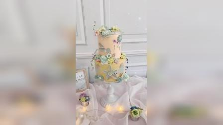 吉安双层裱花蛋糕制作_赣州熳奇烘焙学校
