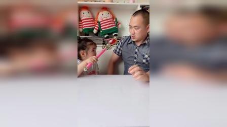 童年趣事:宝贝会把爸爸变成什么