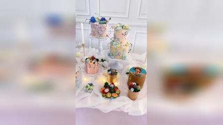 赣州私房蛋糕培训班作品_赣州熳奇蛋糕学校