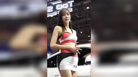汽车车展 韩国美女模特身材好