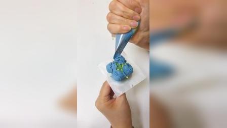 赣州裱花蛋糕培训班裱花嘴花式使用_赣州熳奇烘焙学校