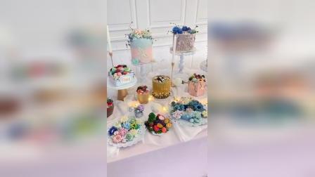 吉安裱花蛋糕培训私房精品班毕业_赣州熳奇烘焙学校