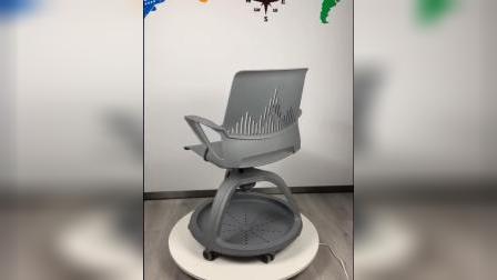 鼎优360度旋转写字板椅子智慧教室课桌椅多颜色展示