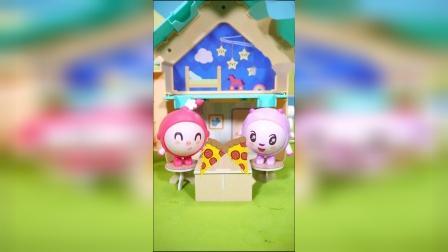 儿童玩具动画片:瑞奇宝宝要吃晚饭咯