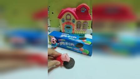 儿童玩具故事:奥利奥饼干