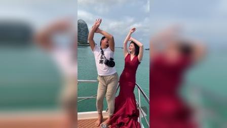 婚纱照幕后:全网最妖娆的摄影师