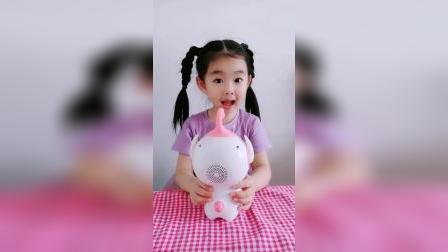 童年趣事:小粉要吃水果怎么办