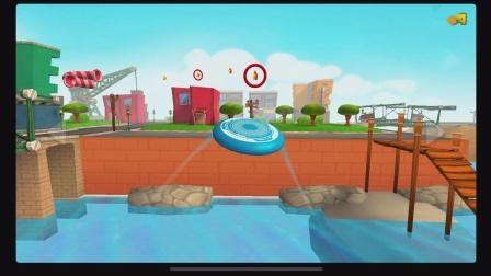 iOS《Frisbee Forever 2》游戏章节ViewPoint Hill关卡8
