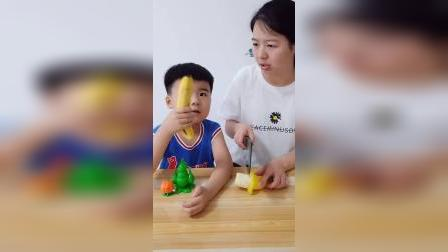 童年趣事:切水果啦!