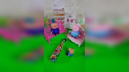 益智宝宝亲子幼教:乔治想吃好吃的糖果