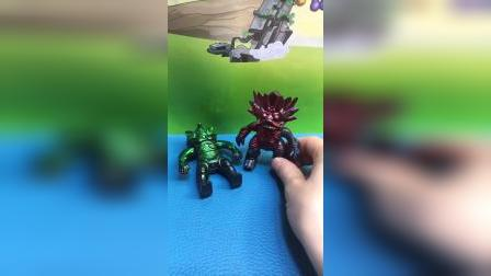 怪兽站在墙角当雕像,奥特曼竟然没看出破绽!