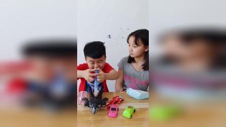 童年趣事:弟弟我们一起出去玩吧