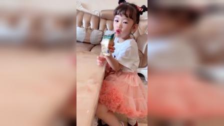 欢乐的童年:一早起来偷偷麦片