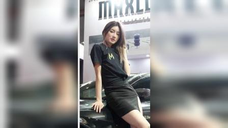 CAS 改装车展  汽车沙龙 #长腿美女模特