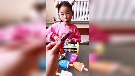 童年趣事:只有一个糖果,姐姐要怎么分呢?