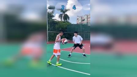 快乐篮球挑战东莞得分王,打出这几球,怀疑他谎报年龄