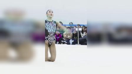 艺术体操代表选拔赛,小姐姐圈操表演