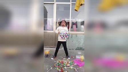 童年趣事:我要把所有的糖倒掉