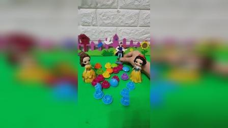 益智玩具:是谁救了青蛙王子?白雪公主和贝尔都承认了