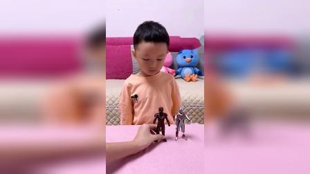 童年趣事:你的其它奥特曼玩具呢