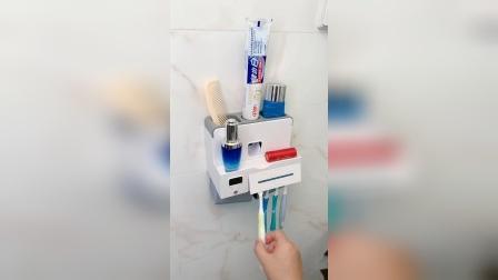 有了这个牙刷消毒收纳架,摆放整齐