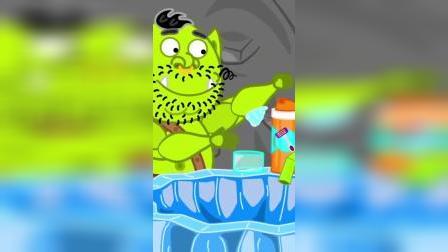 儿童动画:宝宝的小蛋糕#小狮子一家
