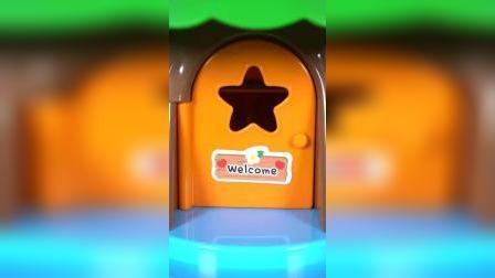 儿童益智玩具:小企鹅啵乐乐乘坐电梯