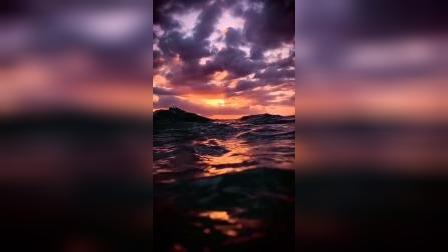 日出东方却落于西的意思是,我爱你有开始就没有结束。