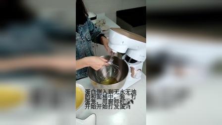 用厨师机做蛋糕卷,非常简单