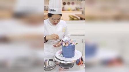 蝶之花蛋糕展示