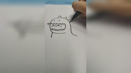 今天教你画卡通人物