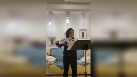 青少年组-邹雨含-D大调长笛协奏曲