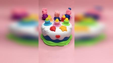 音乐生日蛋糕玩具