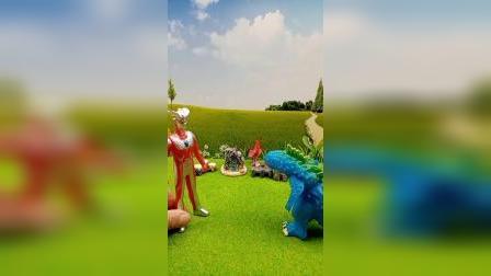 奥特曼趣事:奥特曼参观怪兽的花园