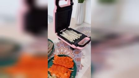 原来三明治机也可以这样用,每天变着花样给孩子做好吃的