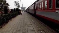 单骑老兵火车视频:  北京--韩城1163次进河津站。
