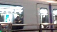 上海地铁4号线起步3号线刹车