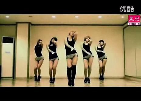 韩国爵士舞团体  韩国热舞爵士美女舞 室内高清_(new)