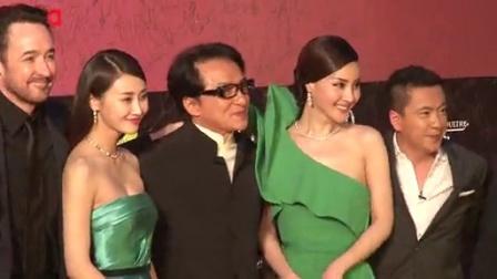 上海国际电影节红毯直击 成龙王中磊天将雄狮 140615